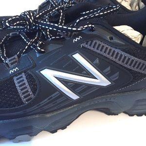 New Balance Shoes - NWOT New Balance Trail Running Shoes Mt410 Black